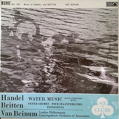 ヘンデル 水上 の 音楽